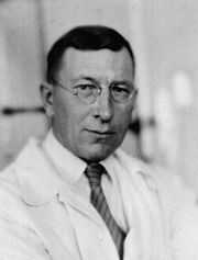 Dr Frederick Banting, the co-inventor of insulin. (Guess this guy is one of my heroes)!