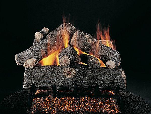 Rasmussen Prestige Oak Vented Gas Logs