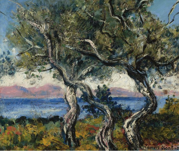The Olive Trees, 1938, Francis Picabia.