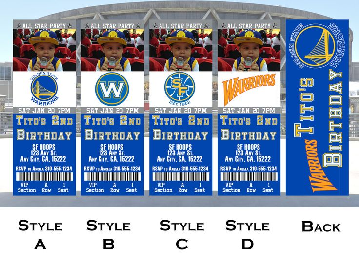 """Thanks for the kind words! ★★★★★ """"These turned out amazing. Michele was awesome to work with."""" Christine S. http://etsy.me/2GFSNPA #etsy #papergoods #birthday #basketballinvite #nbainvitation #nbainvites #basketballbirthday #nbaparty #goldenstate #warriors"""