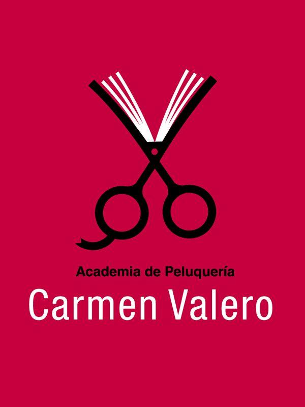 Logotipo academia peluqueria Carmen Valero