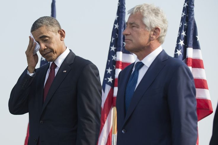 Barack Obama Photos: US Politicians Attend Pentagon 9/11 Memorial Service