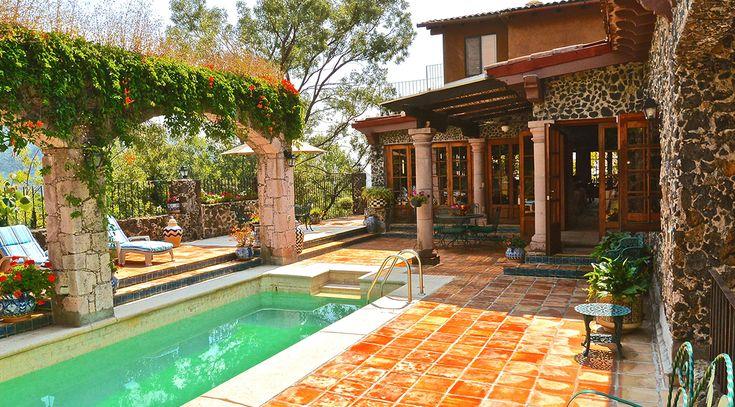 Hacienda de lujo en venta tepoztlan morelos mexico casa - Jardines de casas de lujo ...