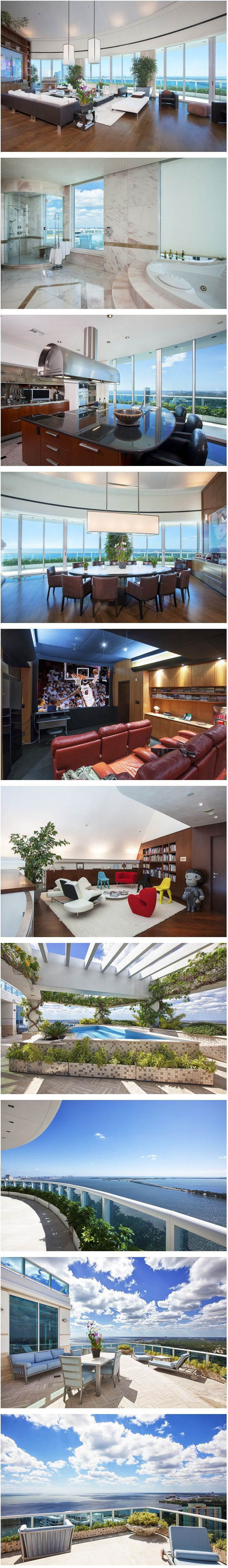 Sala de estar, de Jantar,Cozinha, Sala de TV,Banheiro,Escritório e Sacada