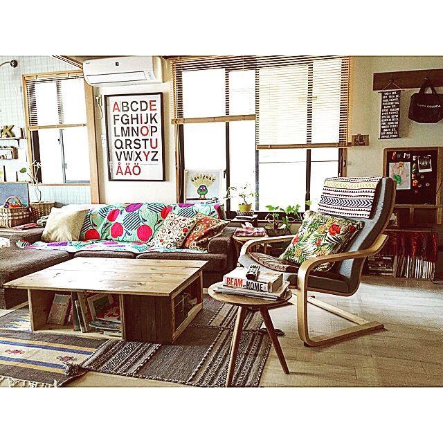 kumiさんの、絵本がぐちゃぐちゃ,男前も可愛いも好き,和室を改造,名刺もらいました♡,RoomClip people,部屋全体,のお部屋写真
