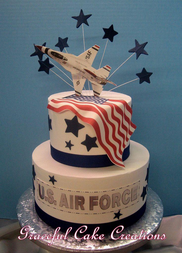 https://flic.kr/p/EEi9ks | U.S. Air Force Groom's Cake
