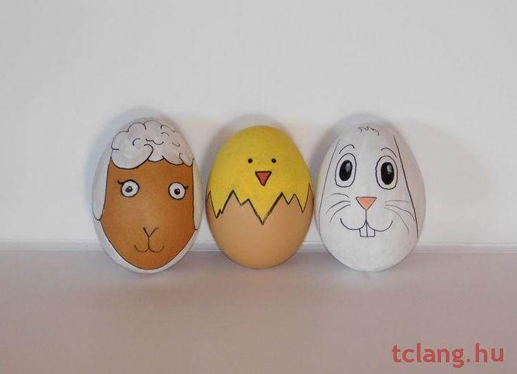 Állatos húsvéti tojások