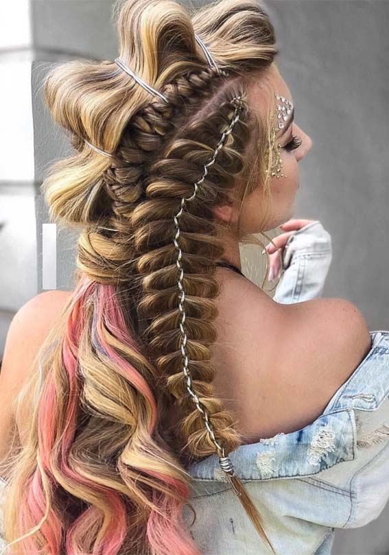 58 Fresh Fish Braided Hairstyles For Girls In 2019 Fashionsfield Braided Hairstyles Dutch Braid Hairstyles Hair Styles