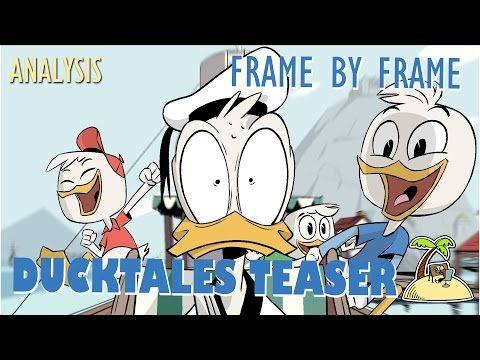 Ducktales Teaser – Frame by frame Animation Analysis | Animator Island