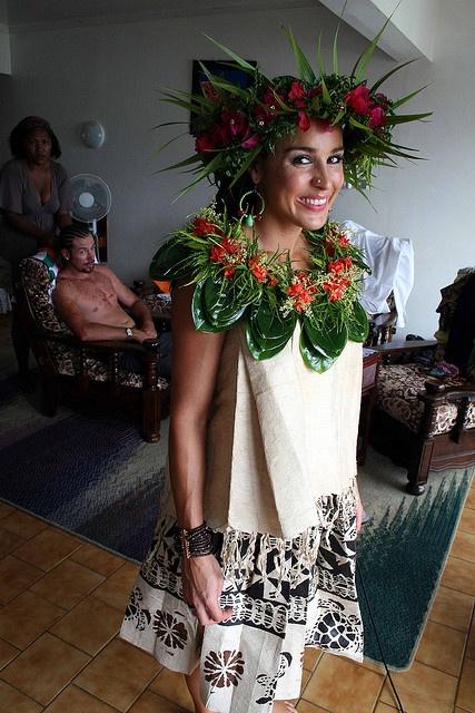 Tapa dress