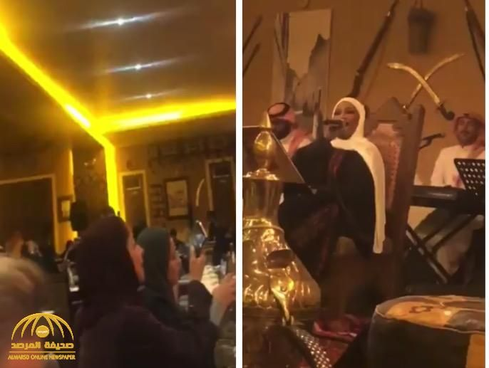 لأول مرة شاهد المطربة الشعبية موضي الشمراني تحيي حفلا غنائيا في مطعم بالبوليفارد بالرياض Concert