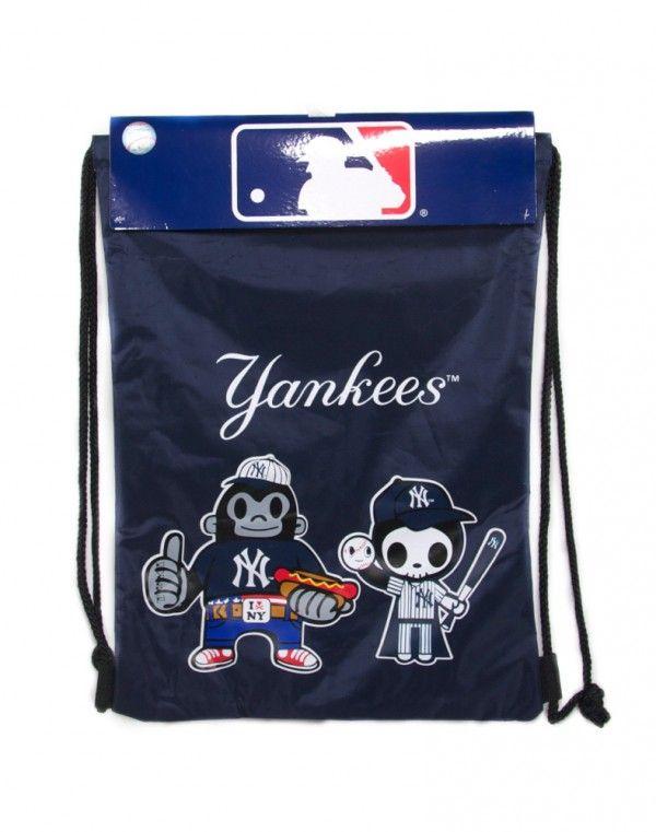 tokidoki x MLB Yankees Drawstring Backsack