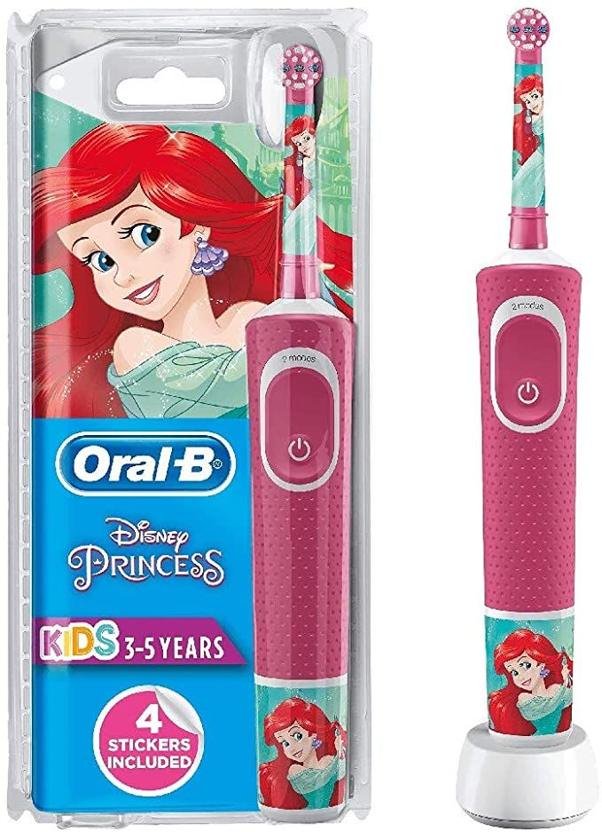 Oral B Stages Power Kids Electric Rechargeable Toothbrush Featuring Disney Princesses 1 Handle 1 Brush Head Uk Oral B Brushing Teeth Rechargeable Toothbrush
