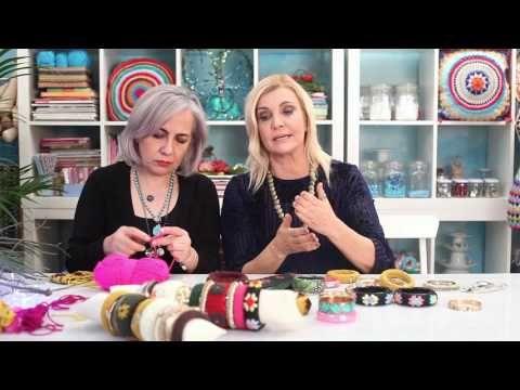 Derya Baykal'la Gülüm: Penye İple Kapaklı Sepet - YouTube