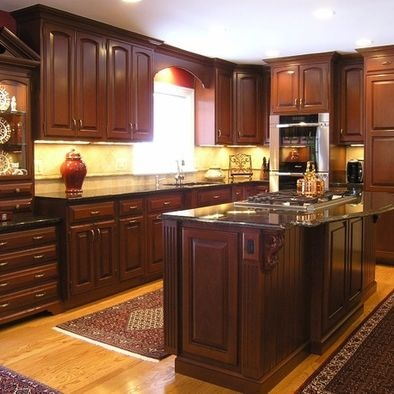 Sunny Sol Arch Raised Cabinets With Molding On The