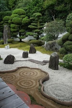 Zen Garden. Japanese Rock ...