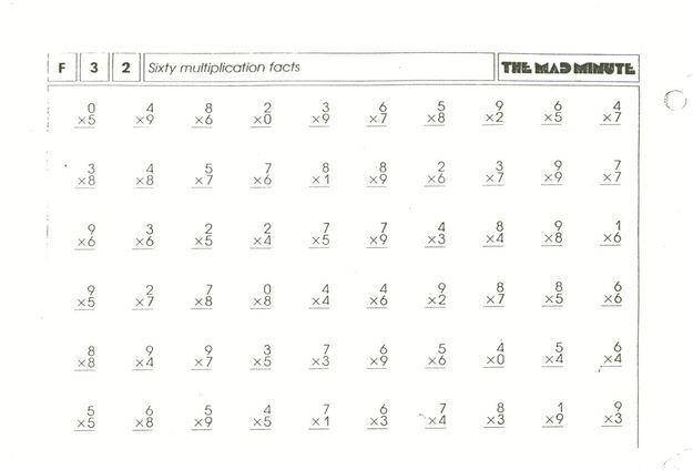 Best 25+ Multiplication test ideas on Pinterest