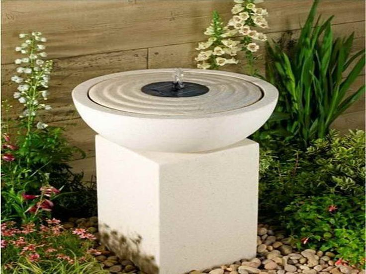 60 best fountain ideas for small gardens images on - Small garden fountain ideas ...