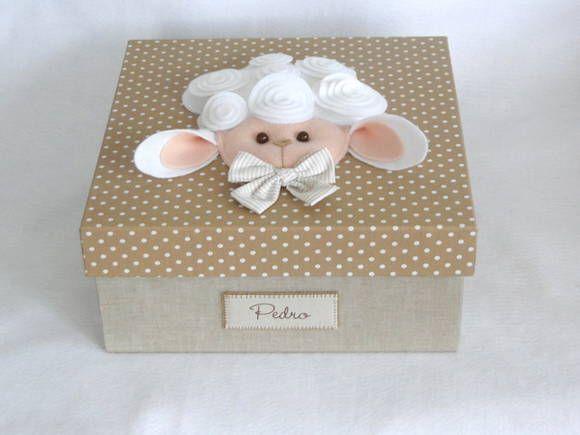 Caixa de lembrancinhas de maternidade I