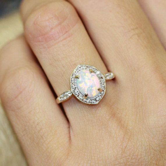 Best 25 Opal engagement rings ideas on Pinterest