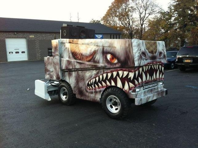 Zamboni Vinyl Wrap Cool Wraps Pinterest Vinyls