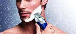Panasonic Tondeuse Barbe avec Socle de Charge Argent