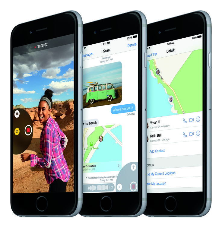 New Skype for iOS 8 uses extensions for answering calls from the - spreadsheet app for iphone 6