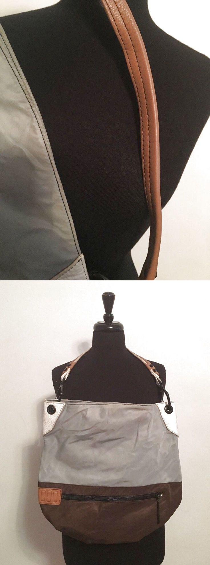 Oryany Nylon And Leather Hobo Bag $29.0