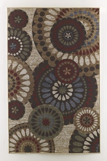 R5000082 D Medium Rug Beige 0.08 in X 82.99 in X 52.01 in
