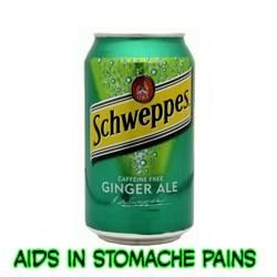 Ginger ale is a classic soft drink which combines the medicinal properties of ginger root with the combination of sugar and carbonation of soda that helps to release the gas from stomach to relieve stomach pain. It is also known as anti-emetic and alleviator of nausea and other stomach disorders.