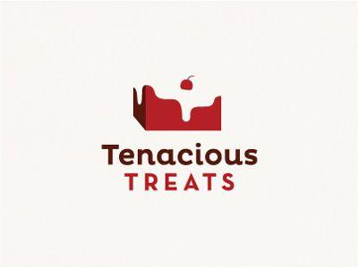jim leszczynski tenacious treats 17 Sweet Dessert Logos