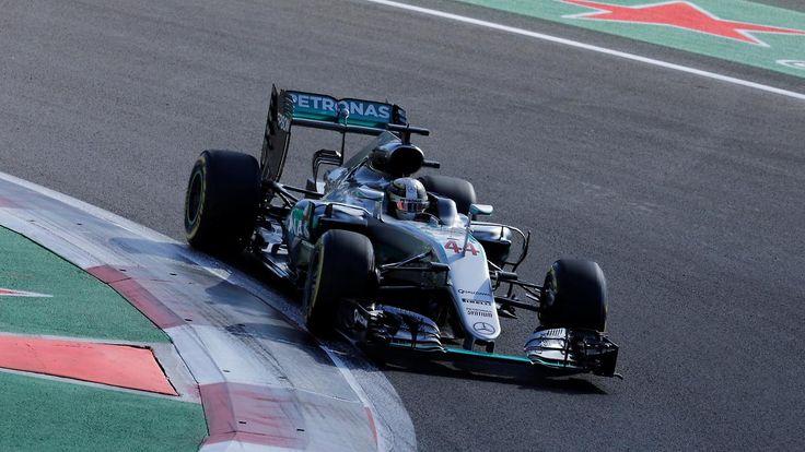 F1: Großer Preis von Mexiko: Hamilton rast vor Rosberg zur Pole