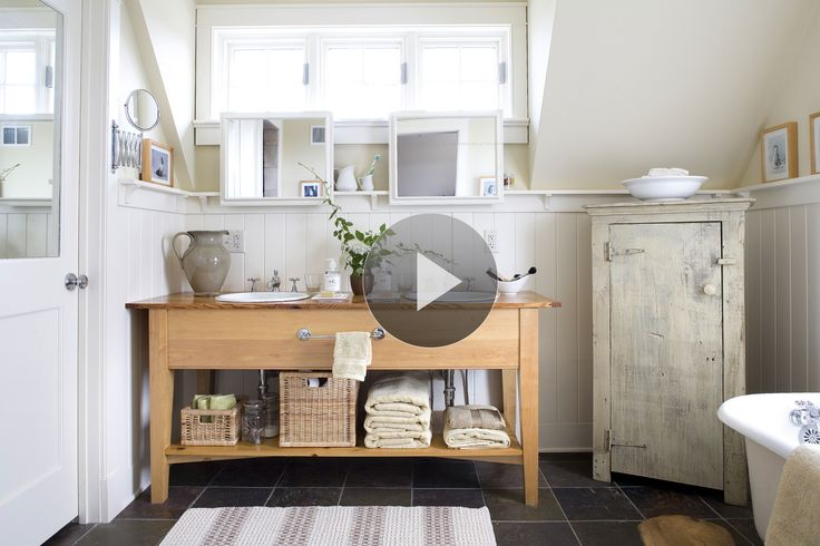 Baños Estilo Country:Diseñar un baño estilo country Tanto casual y personal, estilo