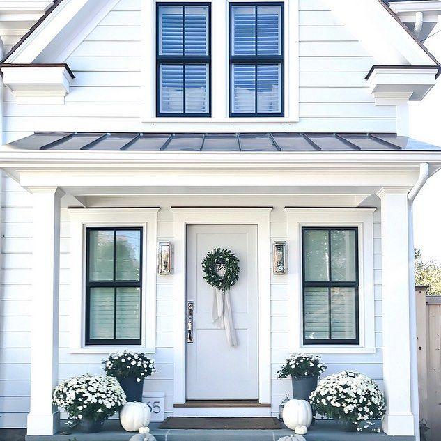 White Exterior House Paint Ideas
