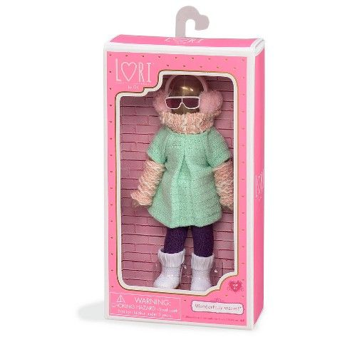 "Lori 6"" Doll Outfit - Earmuffs"