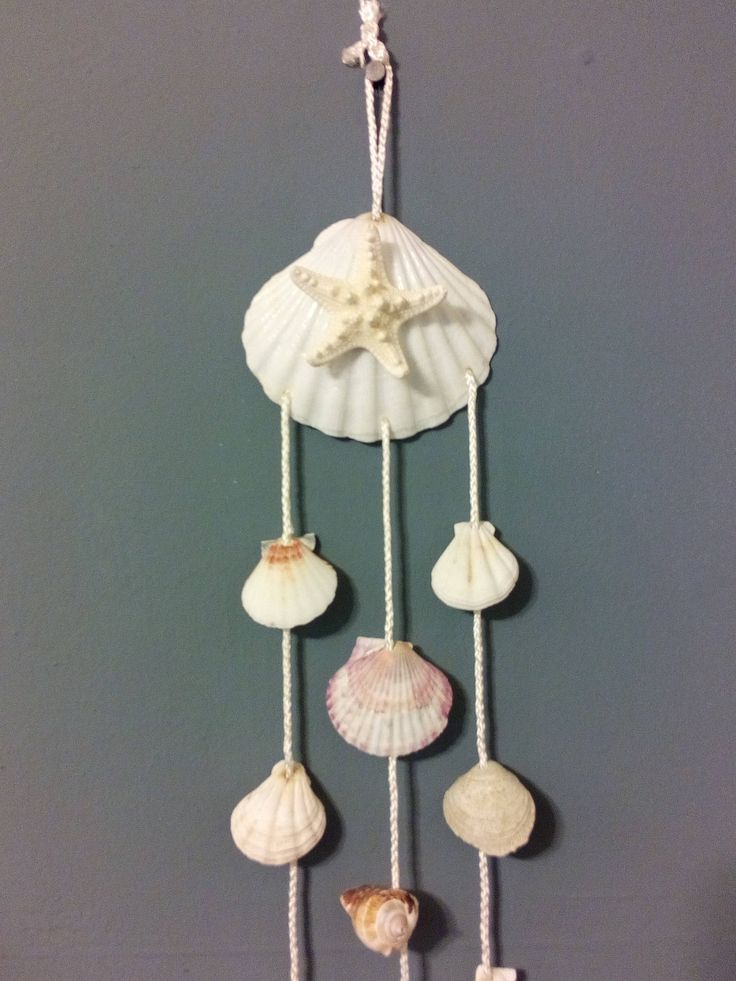 Seashell Mobile by Shop4Kazoku on Etsy https://www.etsy.com/listing/543518968/seashell-mobile