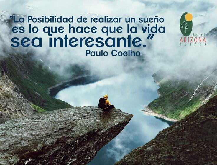 """""""La Posibilidad de realizar un sueño es lo que hace que la vida sea interesante"""" Paulo Cohelo #Frasemotivadora #Cucuta #Colombia #Motivacion"""