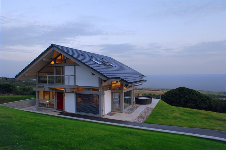 Luxury selfcatering huf haus in dorset huf haus for Modern haus design