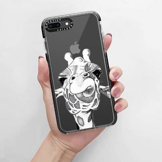 wholesale dealer d0084 f717b Casetify Impact iPhone 8 Plus Case - Josey the Giraffe by Zonkt ...