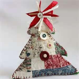 felt folk art christmas ornament
