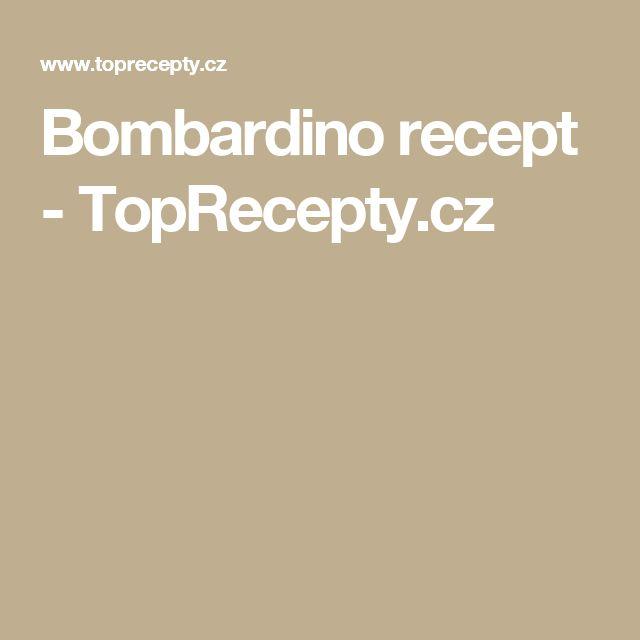 Bombardino recept - TopRecepty.cz