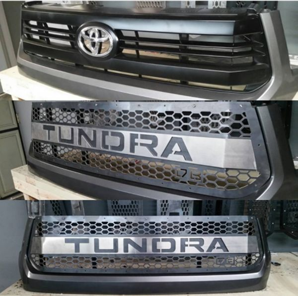 Picture of DBCUSTOMZ Tundra 2016+ Grille Insert with Color-matched letters