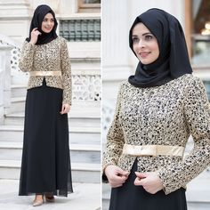 NAYLA COLLECTION - EVENING DRESS - 55865-01S #hijab #naylavip #hijabi #hijabfashion #hijabstyle #hijabpress #muslimabaya #islamiccoat #scarf #fashion #turkishdress #clothing #eveningdresses #dailydresses #tunic #vest #skirt #hijabtrends