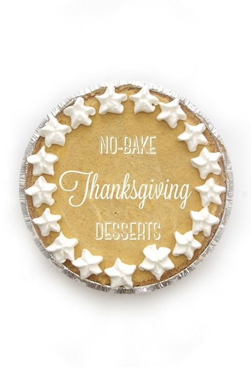 3 EASY No-Bake Thanksgiving Dessert Recipes from the @Good Housekeeping Magazine Test Kitchen!