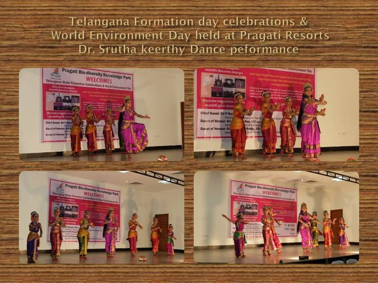 A spectacular dance performance by Dr. Srutha Keerthi and troop, performance by G V N Raju, Mimicry and Ventriloquist artist and the traditional Telangana cuisine