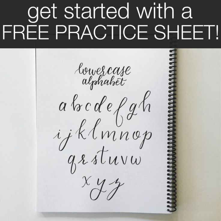 How To Place Procreate Brush Lettering Practice Sheets In