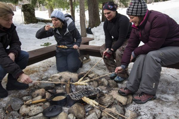 Maine camp has women shooting guns, tracking wildlife and becoming best friends