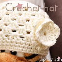 Patroon gehaakt baby- en peutermutsje Jip by Jan Crochet hat pattern by McKinley's Closet  OMA-projects: patterns and tutorials you can start and finish in half a day