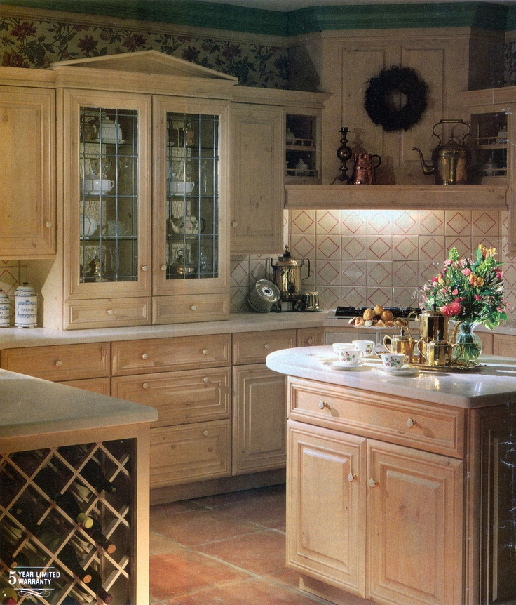 Wood Mode Cabinetry In This Kitchen