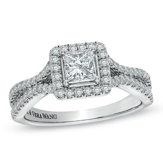 Engagement Rings Under 5,000. Item #19295492, 1 CT. T.W. Princess-Cut ...
